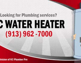 #19 for Design a Banner for KC Water Heater af mydZnecoz