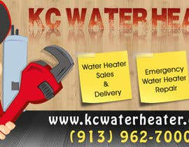 #26 for Design a Banner for KC Water Heater af IllusionG
