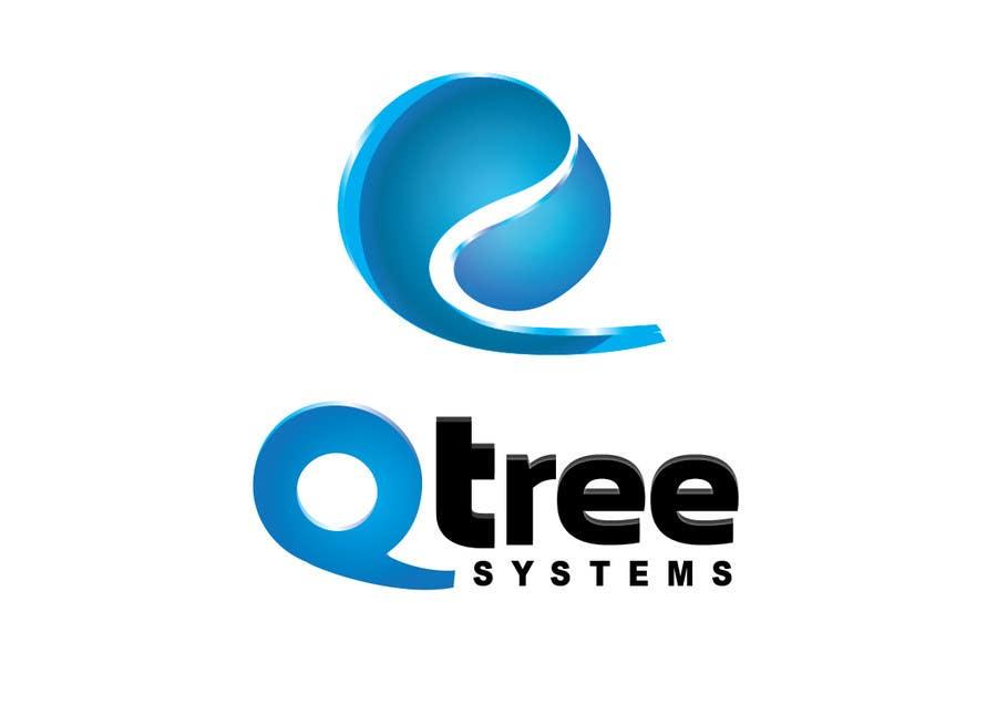 Bài tham dự cuộc thi #                                        641                                      cho                                         Logo Design for QTree Systems
