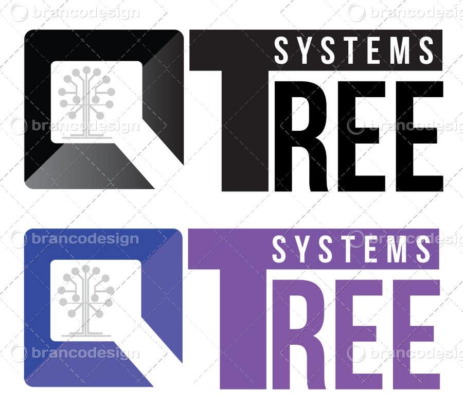 Bài tham dự cuộc thi #                                        384                                      cho                                         Logo Design for QTree Systems