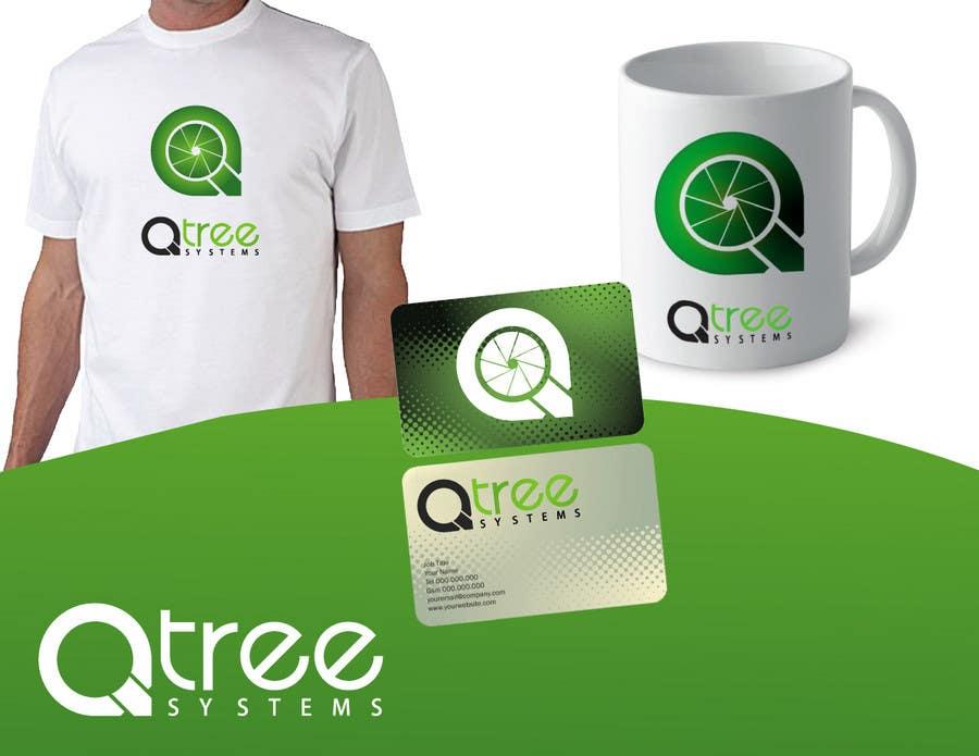 Bài tham dự cuộc thi #                                        615                                      cho                                         Logo Design for QTree Systems