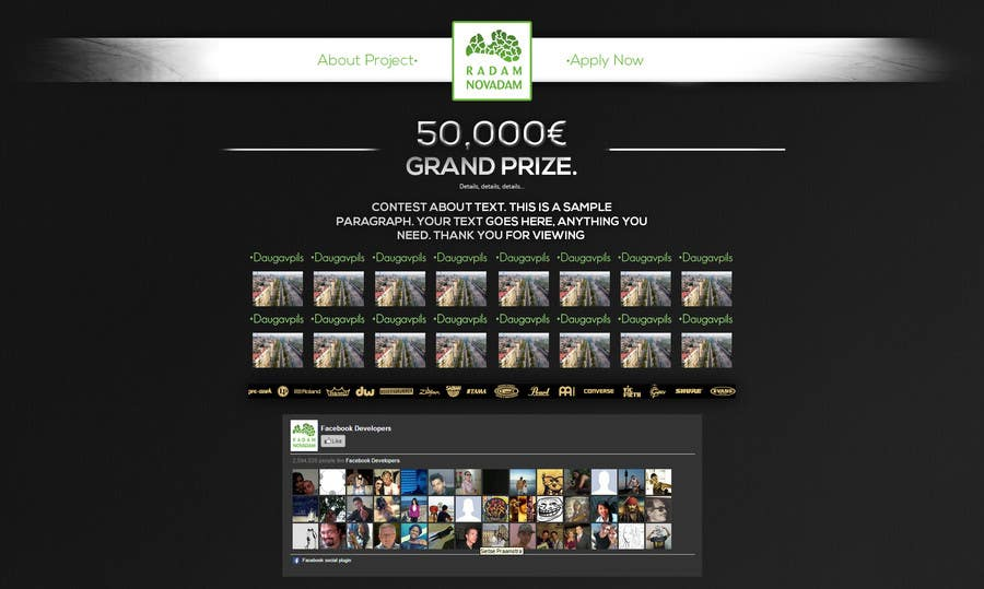 #14 for Design for website front page by AlexZWoahWeb