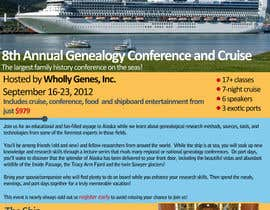 #27 untuk Brochure Design for Annual Conference and Cruise oleh Anamh