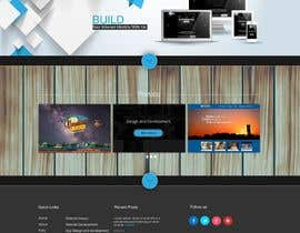 jeransl tarafından Design a Website Mockup for a web development company için no 38