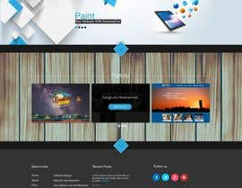 jeransl tarafından Design a Website Mockup for a web development company için no 84