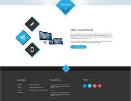 jeransl tarafından Design a Website Mockup for a web development company için no 85