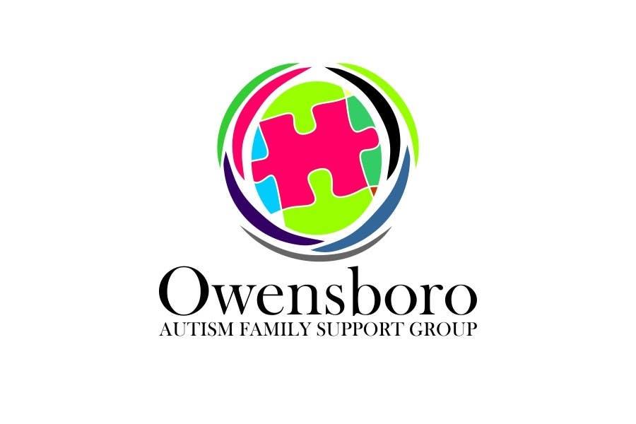 Kilpailutyö #10 kilpailussa Design a Logo for Owensboro Autism Family Support Group