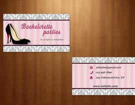 #34 untuk Design some Business Cards for my business running bachelorette parties oleh KateTopuzovska
