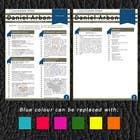Graphic Design Kilpailutyö #13 kilpailuun Resume Design