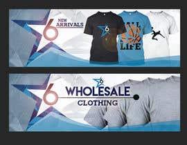Nro 7 kilpailuun Design 2 Banner for Clothing store käyttäjältä wtrinidad