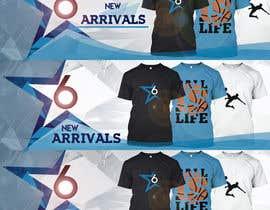 Nro 10 kilpailuun Design 2 Banner for Clothing store käyttäjältä wtrinidad