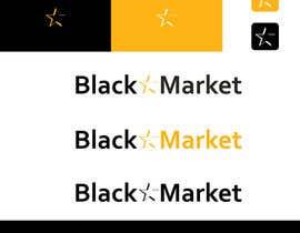 Nro 4 kilpailuun Webshop logo (BlackStar.Market) käyttäjältä codigoccafe