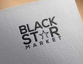 Nro 22 kilpailuun Webshop logo (BlackStar.Market) käyttäjältä abd786vw