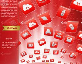 #43 para Brochure Design for Cherry Computers Co. W.L.L. por mfbdeip