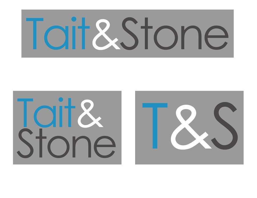 "Konkurrenceindlæg #72 for Design a Logo for ""Tait & Stone Ltd"""