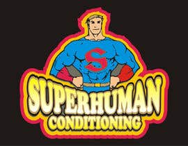 nº 27 pour Design a 'comic book style' Logo for: Superhuman Conditioning par artist4