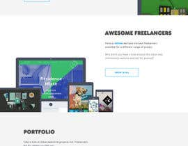 nº 20 pour Design a Website Mockup for Cream, a creative assembly par odettejansen