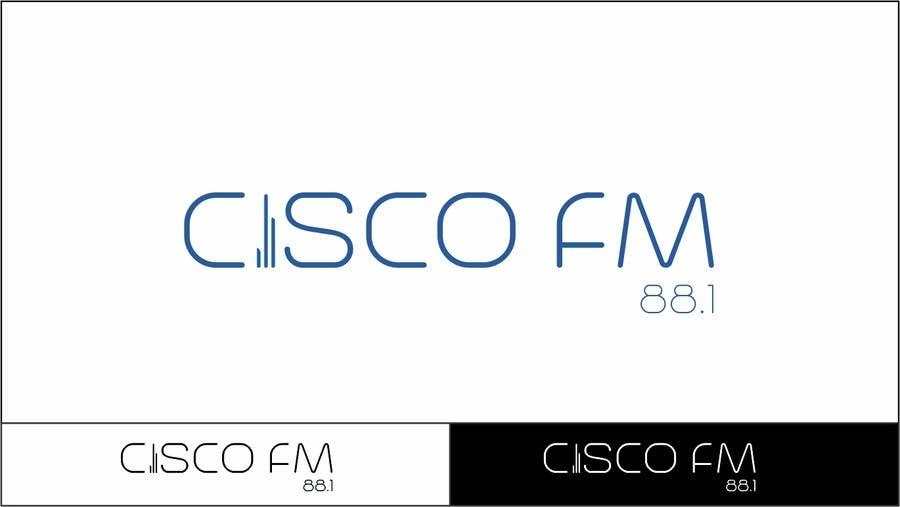 Kilpailutyö #82 kilpailussa Design a Logo for a radio station