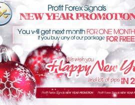 #23 for Design a Banner for New Year Promotion by RERTHUSI
