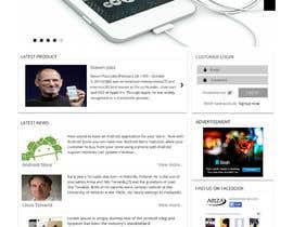 #22 untuk Design a Website Mockup for our Brand oleh Mohd00