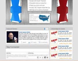#28 for Design a Website Mockup for our Brand af sharpBD