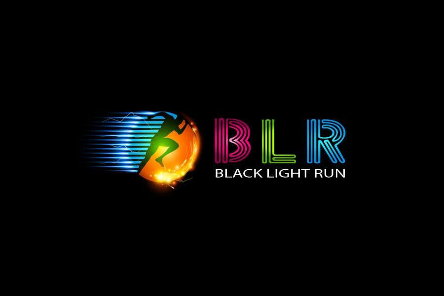 Konkurrenceindlæg #35 for Design a Logo for Blacklight Run