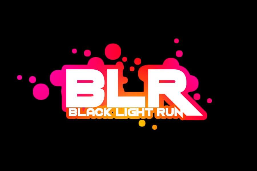 Konkurrenceindlæg #52 for Design a Logo for Blacklight Run