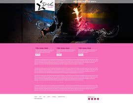 #8 untuk Design website template based on style logo oleh gravitygraphics7
