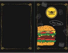 Nro 7 kilpailuun burger restaurant menu käyttäjältä ldelrio0