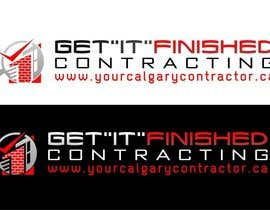 "nº 70 pour Get ""IT"" Finished Contracting Company Logo Required! par advway"