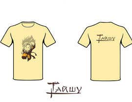#8 para Разработка дизайна футболки for Тайшу por mishasvetenco