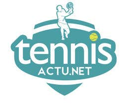 nº 5 pour Make a logo for TennisActu a new rebranding website about tennis par marinceanpaul