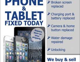 Nro 26 kilpailuun Design a Flyer For Computer / Phone Repair käyttäjältä prijatel