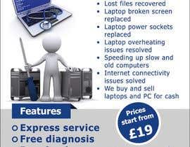 Nro 27 kilpailuun Design a Flyer For Computer / Phone Repair käyttäjältä prijatel