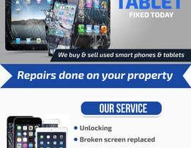 Nro 10 kilpailuun Design a Flyer For Computer / Phone Repair käyttäjältä islamrobi714