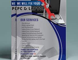 Nro 20 kilpailuun Design a Flyer For Computer / Phone Repair käyttäjältä Badraddauza