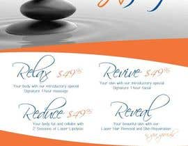 #50 for Design a Flyer for a Spa af meassink