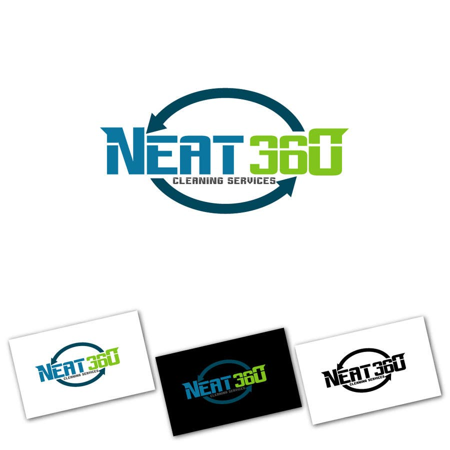 #7 for Design a Logo for Neat 360 Cleaning Services by ixanhermogino