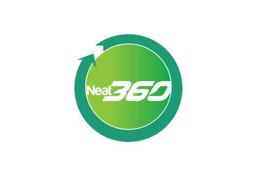 #68 para Design a Logo for Neat 360 Cleaning Services por creativeartist06