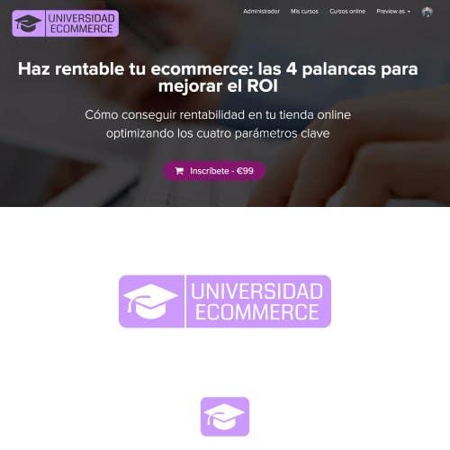 Penyertaan Peraduan #                                        18                                      untuk                                         Logo design for ecommerce university