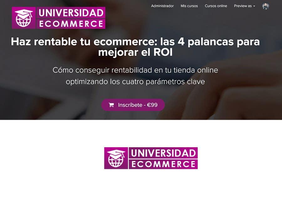 Penyertaan Peraduan #                                        37                                      untuk                                         Logo design for ecommerce university