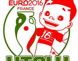 #14 for Create t-shirt design for Euro Cup 2016 by parrajg17
