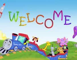 #31 untuk Childbook author website homepage illustration oleh karmachela