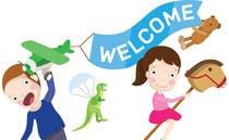 Graphic Design Entri Peraduan #11 for Childbook author website homepage illustration