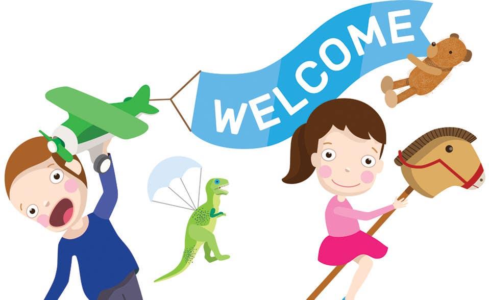 Penyertaan Peraduan #                                        11                                      untuk                                         Childbook author website homepage illustration
