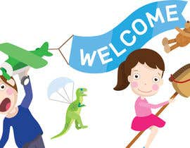 #11 untuk Childbook author website homepage illustration oleh darnedo