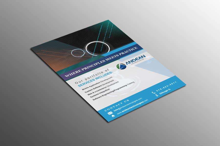 Bài tham dự cuộc thi #7 cho Design a Flyer for an IT consulting company