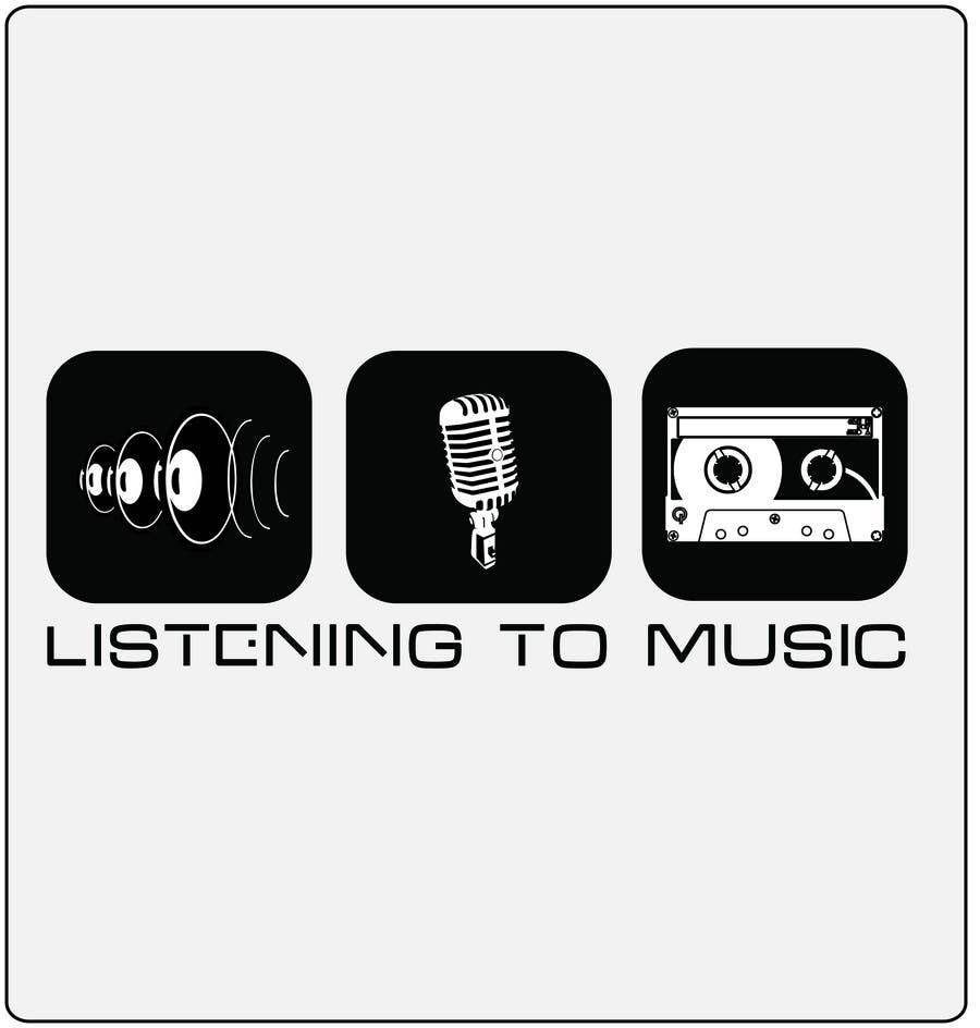 Bài tham dự cuộc thi #101 cho Logo Design for Listening to music