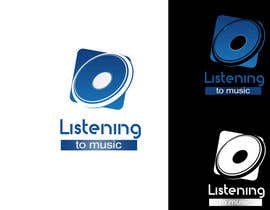 nº 157 pour Logo Design for Listening to music par kingspouch