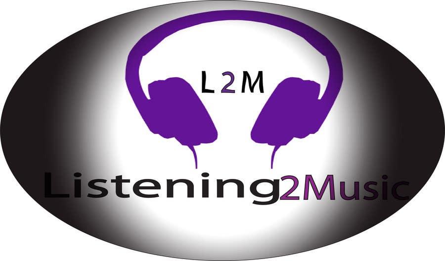 Inscrição nº 44 do Concurso para Logo Design for Listening to music